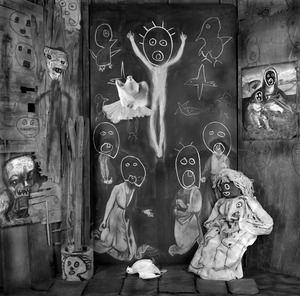 """Ascension. From the series """"Asylum of the Birds"""" © Roger Ballen"""