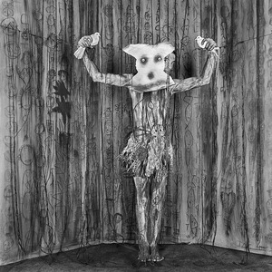 "Alter Ego. From the series ""Asylum of the Birds"" © Roger Ballen"