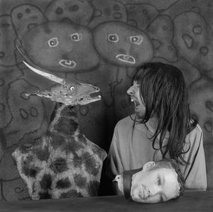 "Altercation. From the series ""Asylum of the Birds"" © Roger Ballen"