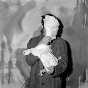"Blinded. From the series ""Asylum of the Birds"" © Roger Ballen"