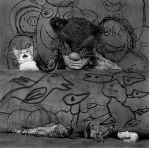 "Malicious. From the series ""Asylum of the Birds"" © Roger Ballen"