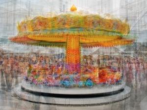Alexanderplatz carousel © Pep Ventosa