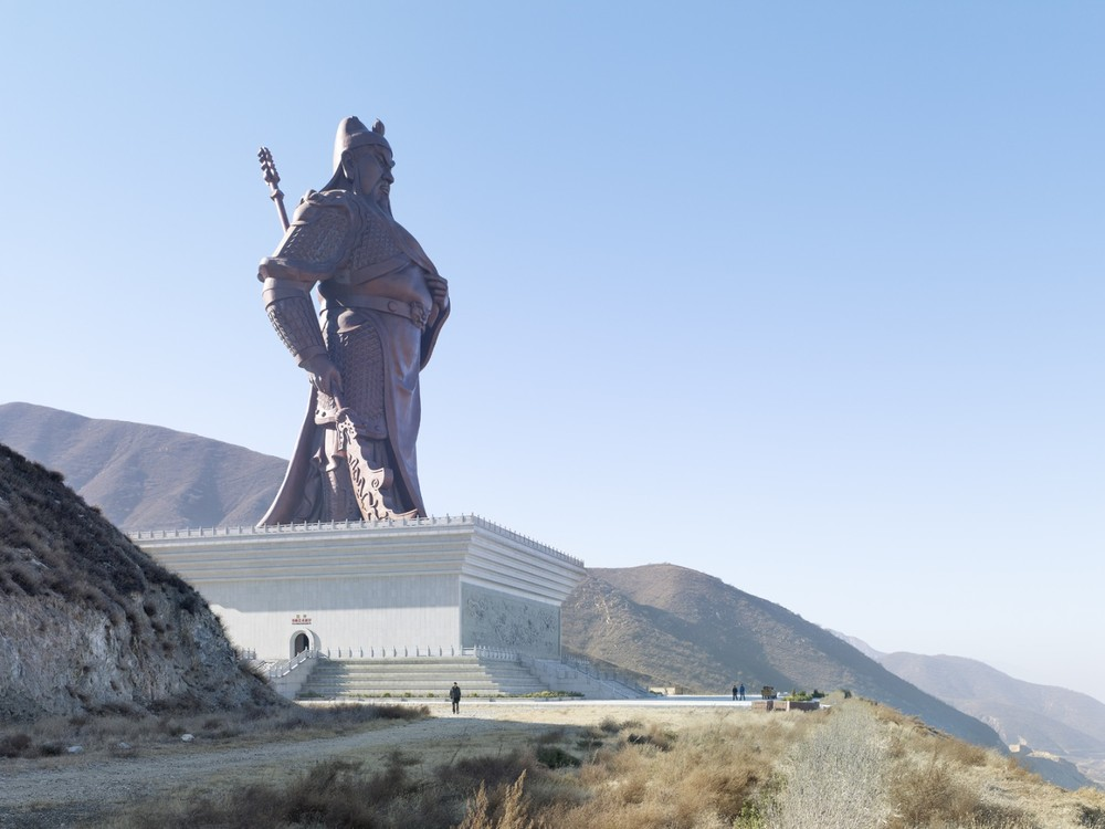 Guan Yu Statue. Yuncheng, China, 80 meters ( 262 ft) Built in 2010 © Fabrice Fouillet