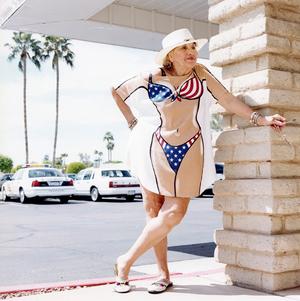 Bikini queen, from the series Sun City © Peter Granser