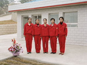 Mangyongdae Petrol Station, from <i>Welcome to Pyongyang</i>, © Charlie Crane, 2007