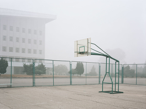 Basketball Court, from <i>Welcome to Pyongyang</i>, © Charlie Crane, 2007