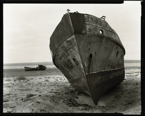 "© Radek Skrivanek, Bow of vessel ""GAGARIN"", abandoned fleet"