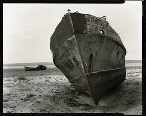 """© Radek Skrivanek, Bow of vessel """"GAGARIN"""", abandoned fleet"""