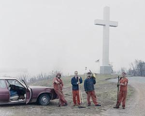 Fort Jefferson Memorial Cross, Wickliffe, Kentucky © Alec Soth