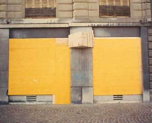 Temporary Discomfort V, G8 Summit,  Antilogo No. 5, Evian/Geneva 2003, C-print 80/100cm Ed.7 © Jules Spinatsch