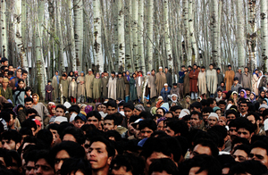 2nd prize People in the News © Ami Vitale, USA, Getty Images, Kashmir. The dispute between India and Pakistan over claims to the mountainous northern region of Kashmir has continued for more than 50 years, and has at least twice led to war between the two nuclear powers. The area is controlled by India, but has a 60 percent Muslim majority.