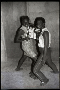 © Malick Sidibé, James Brown fans, 1965, gelatin silver print, 50 x 60 cm. Courtesy of Fifty One Fine Art Photography.