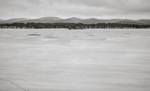 Pontoosuc Lake with old ice © Shaun O Boyle