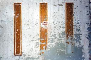 PROJECTION DE BÉTON SUR MUR À TROIS MOTIFS RECTANGULAIRES                                                  2013 - FRANCE                                                               Format  - 150X100 - 5 EX.                 Format  - 70X100 - 5 EX.                   Format  - 60X40 - 5 EX.                                                    © Louis-Paul Ordonneau