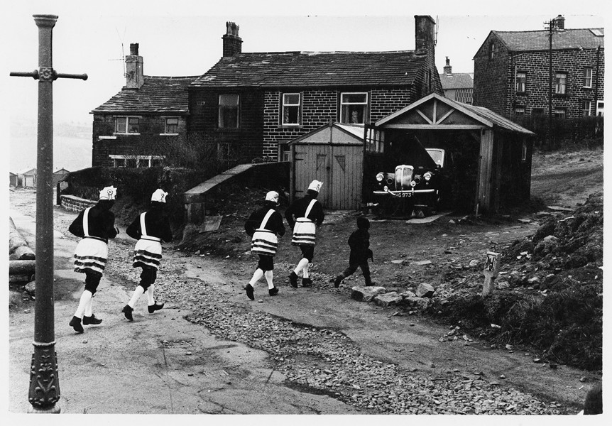 Bacup coconut dancers, 1968. Tony Ray-Jones © The National Media Museum, Bradford, UK