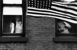 Parade  Hoboken, New Jersey, from The Americans © Robert Frank