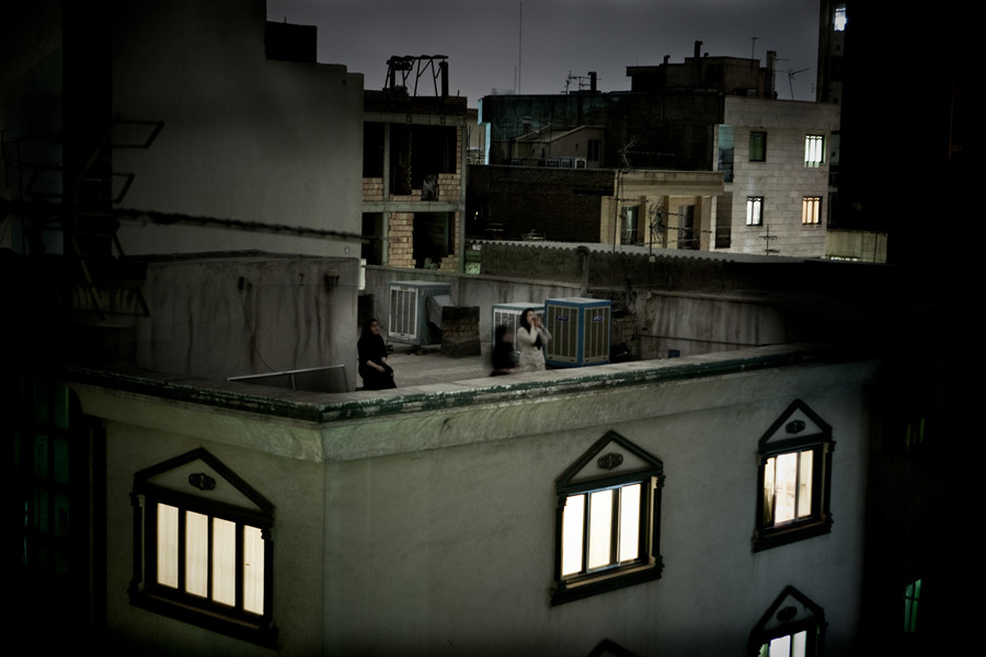 World Press Photo of the Year 2009. © Pietro Masturzo, Italy. From the rooftops of Tehran, June