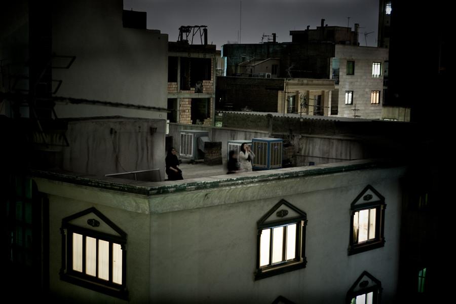 World Press Photo of the Year 2009. © Pietro Masturzo, Italy. From the rooftops of Tehran, June