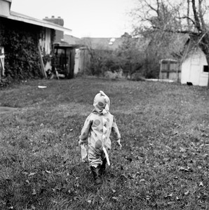 "Austin (DInosaur #1). Provo, UT. From the series ""Childhood Reveries""  © Brian Shumway"