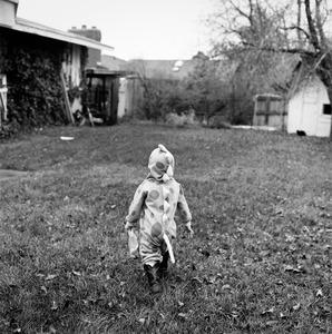 "Austin (DInosaur #1). Provo, UT. From the series ""Childhood Reveries""  © Brian Shumway"