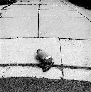"Pratt (Driveway). Provo, UT. From the series ""Childhood Reveries""  © Brian Shumway"
