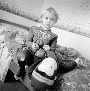 "Hannah (Stuffed Monkey). Idaho Falls, ID. From the series ""Childhood Reveries""  © Brian Shumway"
