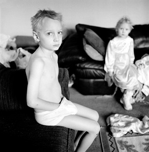 """Anthon & Hannah. Idaho Falls, ID. From the series """"Childhood Reveries""""  © Brian Shumway"""