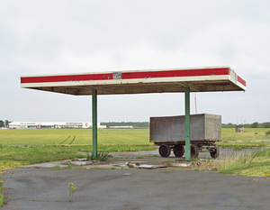 "Station #2, from ""Twentysix Abandoned Gasoline Stations"" © Eric Tabuchi"