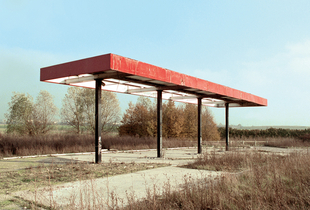 "Station #1, from ""Twentysix Abandoned Gasoline Stations"" © Eric Tabuchi"