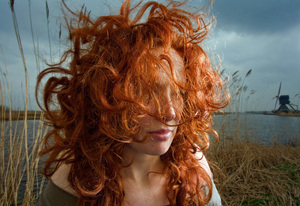 Monica, from the series Natural Red Hair © Hanne van der Woude
