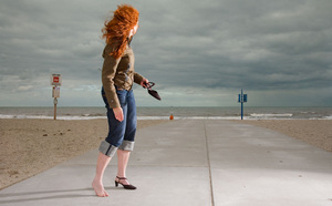 Jolanda, from the series Natural Red Hair © Hanne van der Woude