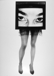 Lynn Hershman, TV Legs, 1990 © Gallery Paule Anglim, Paris Photo LA
