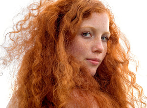 Hendrien, from the series Natural Red Hair © Hanne van der Woude