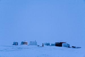Dolgan reindeer herders camp. Anabarskiy ulus. December, 2007 © Evgenia Arbugaeva,
