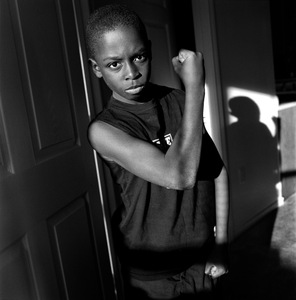 """Muscle Man. Tyler, TX. From the series """"Childhood Reveries""""  © Brian Shumway"""