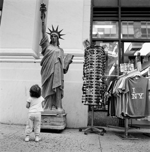 "Mini Satue of Liberty. New York, NY. From the series ""Childhood Reveries""  © Brian Shumway"
