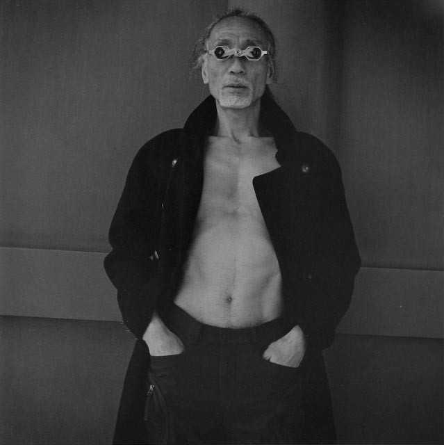 A performer of butoh dance, 2001© Hiroh Kikai / Courtesy of Studio Equis