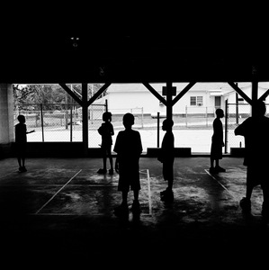 "Four Square (Camp Wesley), Carrollton, GA. From the series ""Childhood Reveries""  © Brian Shumway"