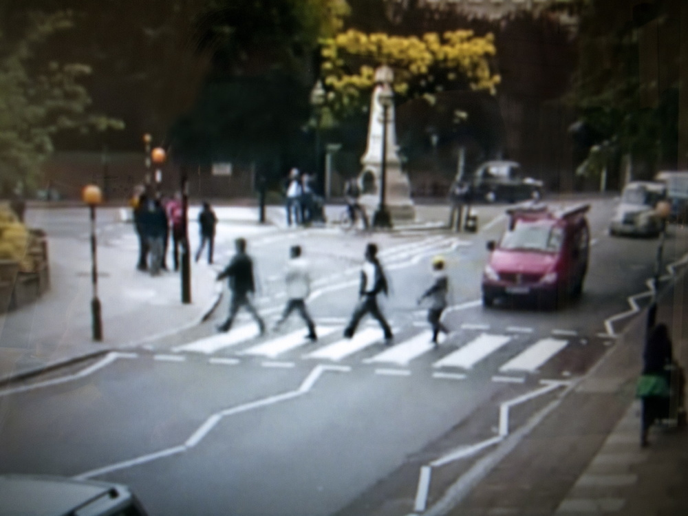 Mass Surveillance, Abbey Road, London, UK, 2011. Photographic still of live-streaming webcam © Gaia Light