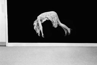 """Aerial Suspension, from the series """"Conjurations"""" © Clare Strand and courtesy of Camilla Grimaldi Gallery, The Unicredit Bank Collection"""