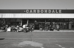 Saturday flea market, Carbondale, PA © Shaun O Boyle