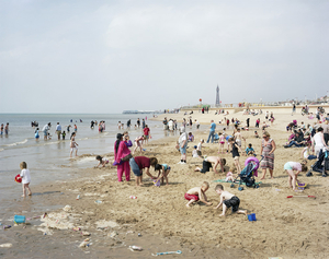 Blackpool Beach, Lancashire, 25 July 2008 © Simon Roberts