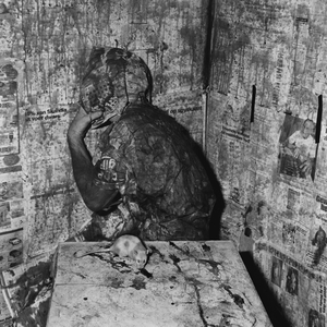 Retreat, 2005, from the series Boarding House © Roger Ballen