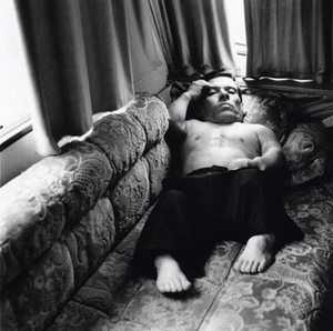 Pitchou in His Caravan, England, 2003, from Strangely Familiar by Michal Chelbin, Aperture 2008 © Michal Chelbin
