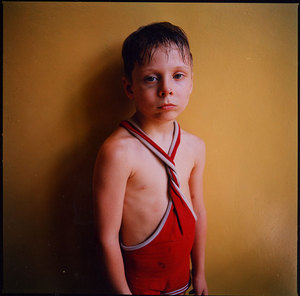 Black Eye, Ukraine, 2006, from Strangely Familiar by Michal Chelbin, Aperture 2008 © Michal Chelbin