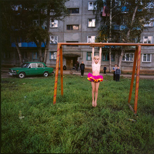 Xenia on the Playground, Russia, 2003, from Strangely Familiar by Michal Chelbin, Aperture 2008 © Michal Chelbin