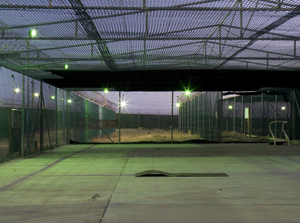"Camp 1 Recreation Cage from ""If The Light Goes Out: Home from Guantanamo"" © Edmund Clark"