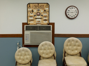 "Naval Base Fellowship Room from ""If The Light Goes Out: Home from Guantanamo"" © Edmund Clark"