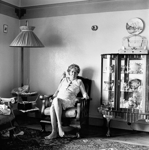 A woman in her parlour, Bezuindenhout Valley. November 1973 © David Goldblatt