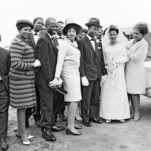 Wedding party, Orlando West. 1970 © David Goldblatt